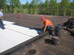 Commercial, Industrial Flat Roofing