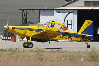 EC-GVN Air Tractor On Fire Fighting Duties