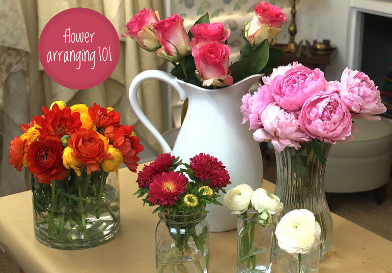 Crafty Creations: Flower Arranging