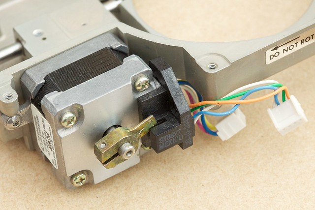 Stepper motor position sensor flickr photo sharing for Stepper motor position control