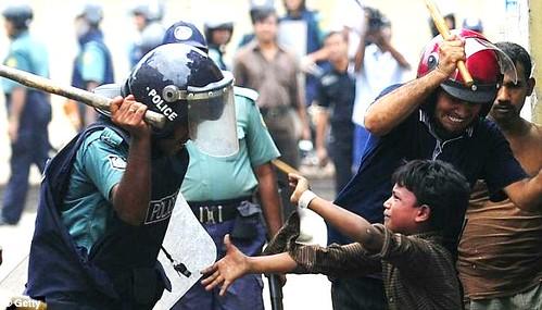 Bamgladesh policeman