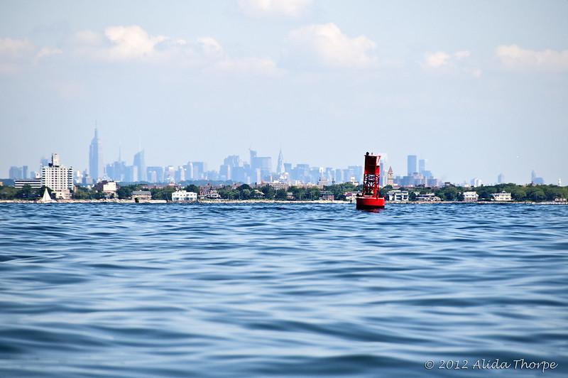 Ocean off NYC
