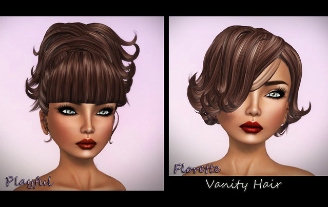 Hair Fair 2012 - Vanity Hair - Playful & Florette-Brown & Glam Affair - Cassiopea - India