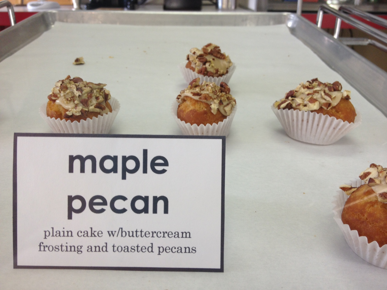 Mini maple pecan doughnuts at Donut Savant | Flickr - Photo Sharing!