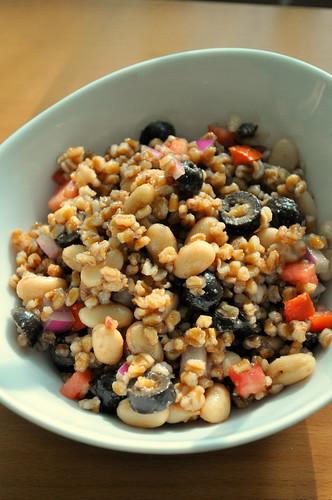 Bruschetta-Wheatberry-Salad