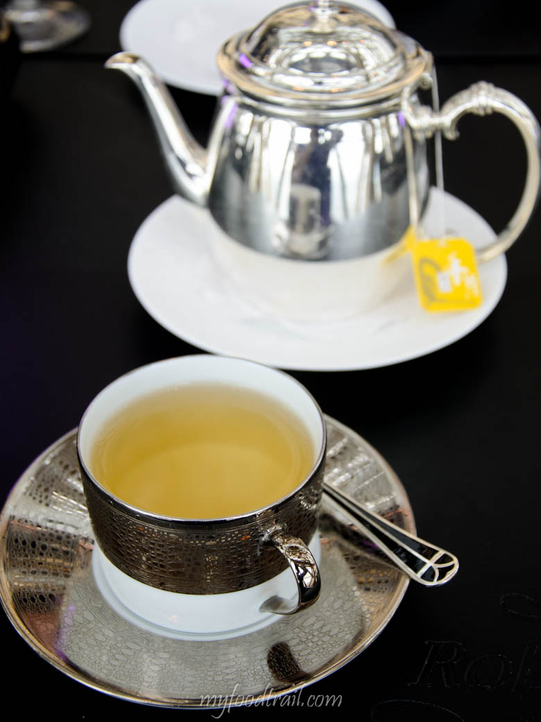 Joel Robuchon au Dome, Macau - Tea