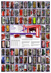 BT ArtBoxes - Montage / Collage Celebrating a British icon
