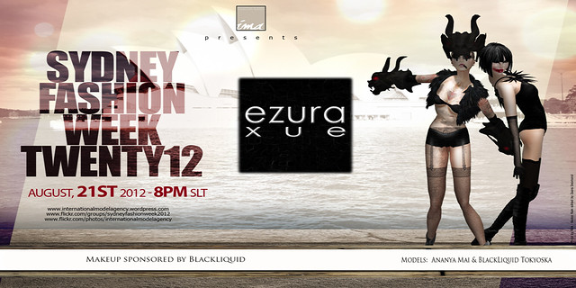 ezura Xue + Sydney Fashion Week
