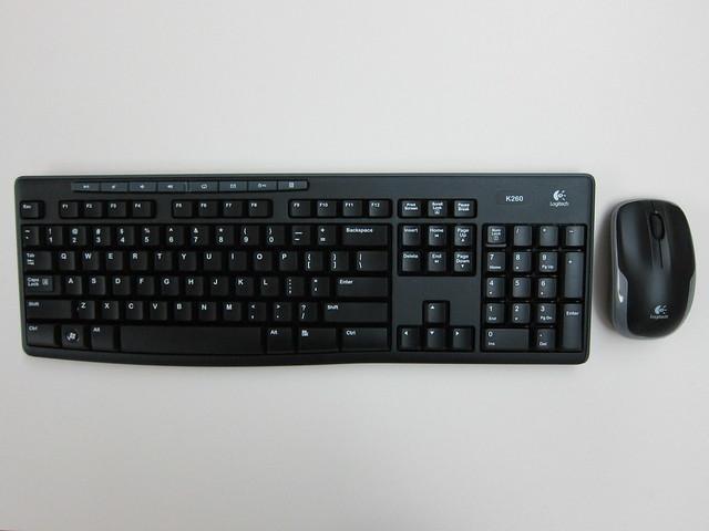 Logitech MK260 Wireless Combo - Keyboard & Mouse