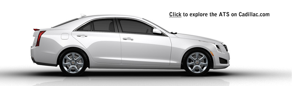 Click here to visit Cadillac.com and further explore the all new 2013 ATS