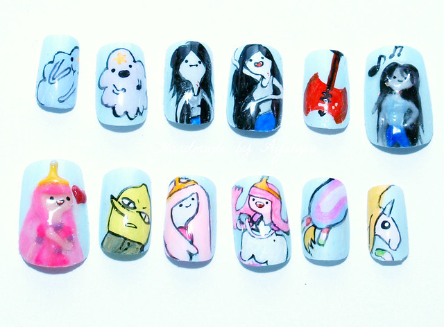 Anime Nails
