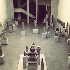 Guimet museum of asian art in Paris