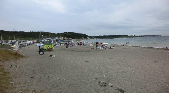和田海水浴場(神奈川県三浦半島)