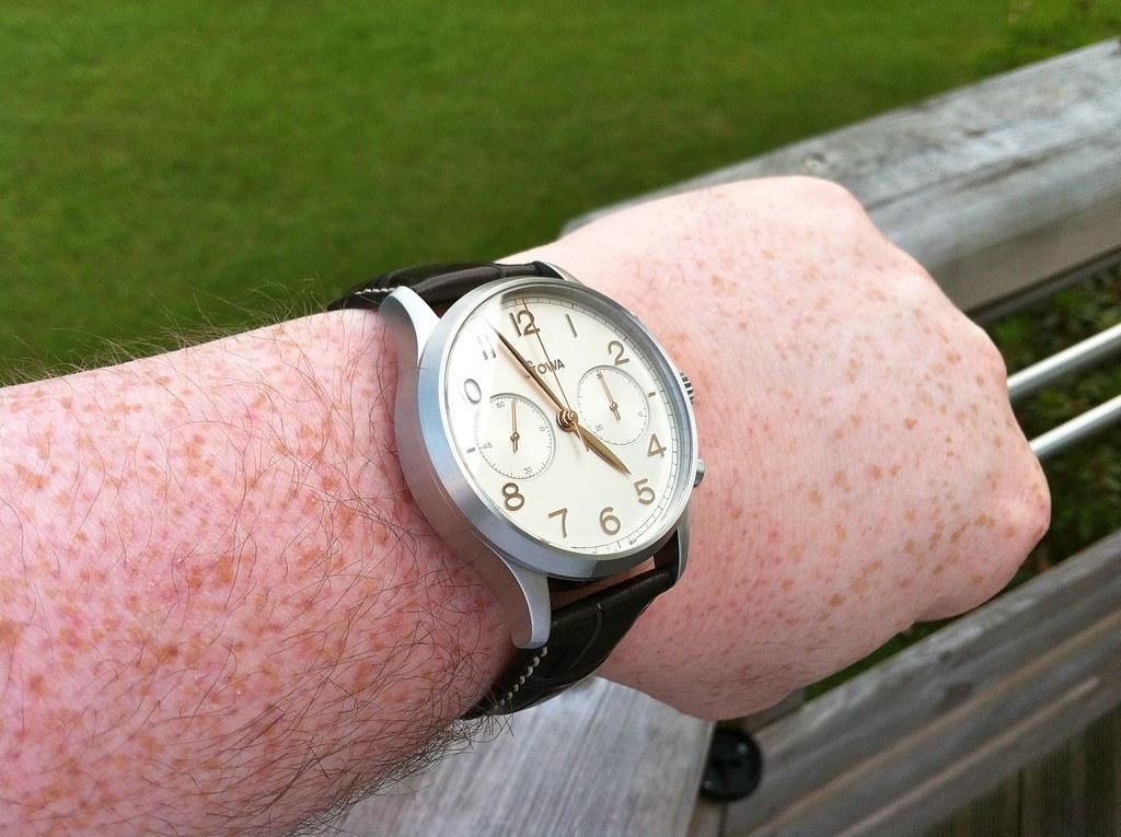 stowa - Stowa, Archimede, Longines... Un chrono classic pour un petit poignet ! 7782807042_887ba81290_b