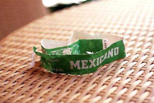 mexicano wristband