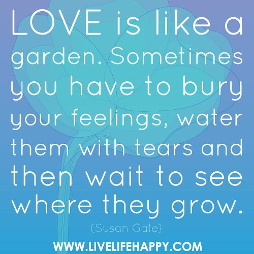 Love Is like a Garden