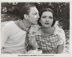 "Warren William, Kay Francis, ""Doctor Monica"" (WB, 1934, dir. Wm. Keighley), original production still."
