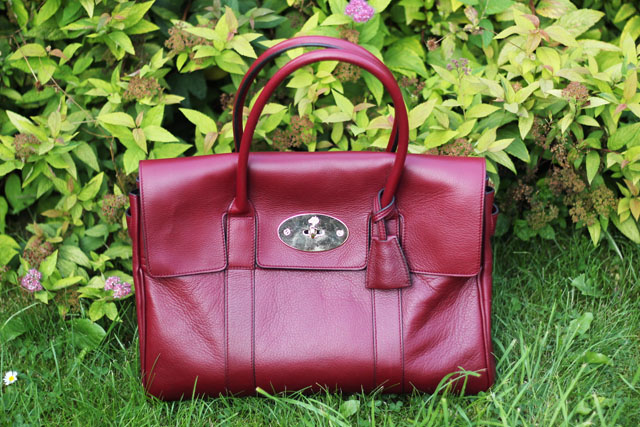 Mulberry Black forest soft matte Bayswater handbag