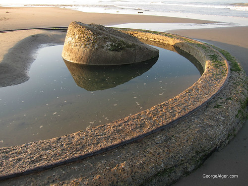 Ventura Beach WWII Artillery Site, by George Alger