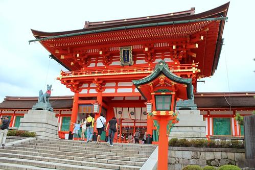 Fushimi Inari Taisha main hall