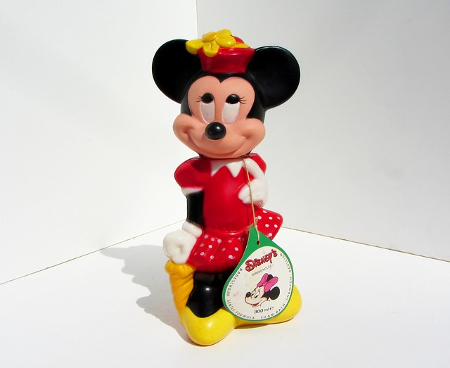 Minnie Mouse Bubble Bath Soaky And Shower Gel 300 Ml Pla