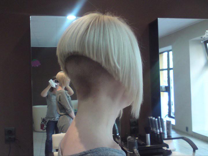 Short Nape Bob Haircut