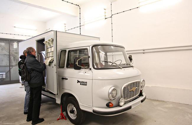 Hohenschönhausen Prison truck