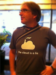 """The cloud is a lie."" Jeremy Keith, An Event Apart Chicago #aea"