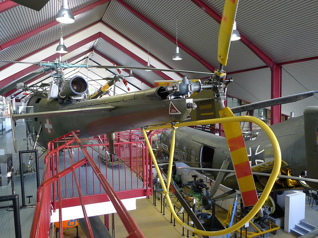 Heckrotor: SE.3160 Alouette III