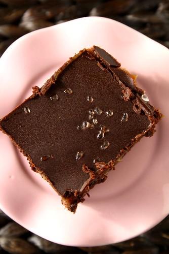 PC & Recipe to Riches Salt-Kissed Dulce de Leche Brownie
