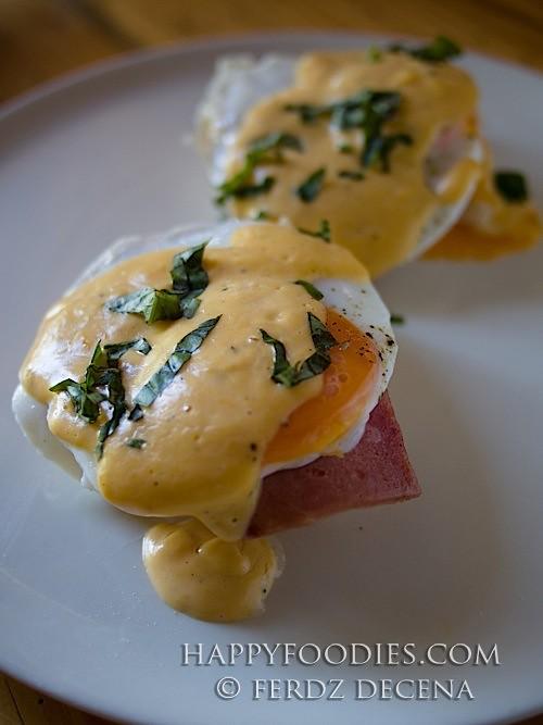 Eggs a la Benedict