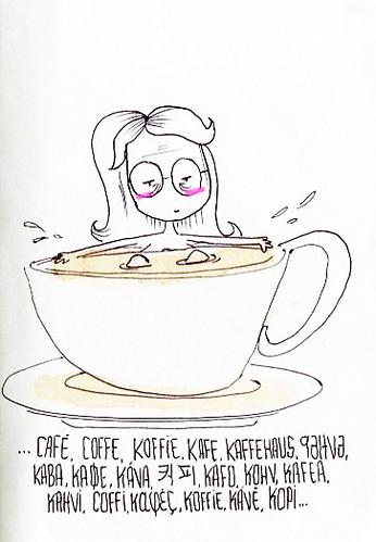 Prefiero café a leche de burra by gemma_granados