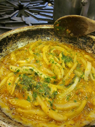 orange fennel sauce
