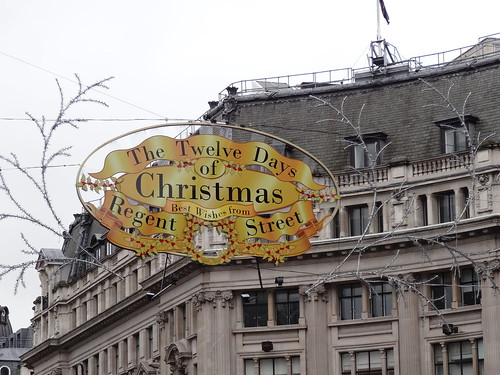 Twelve Days of Christmas Along Regent's Street