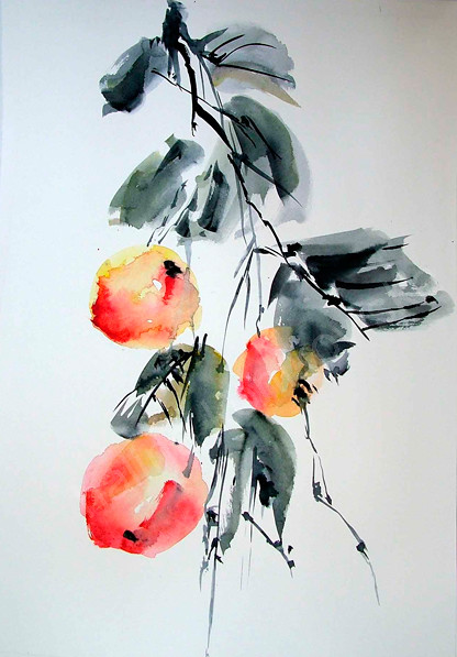 Back to photostream for Japanese watercolor paintings
