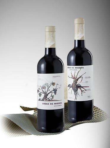 Vino Viñas de Miedes Crianza Reserva Bodegas San Alejandro Miedes de Aragón