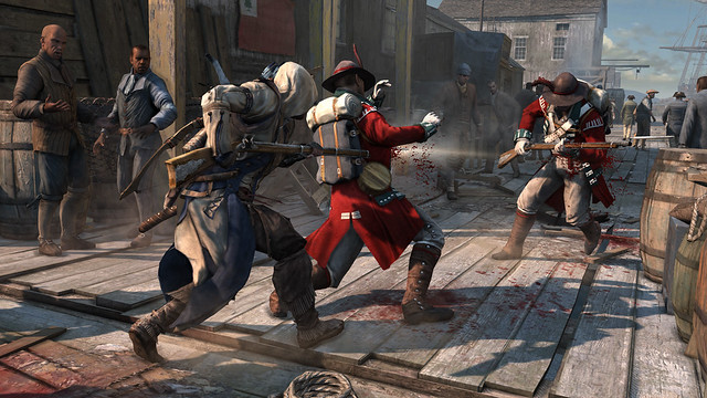 Assassin's Creed III - Combat