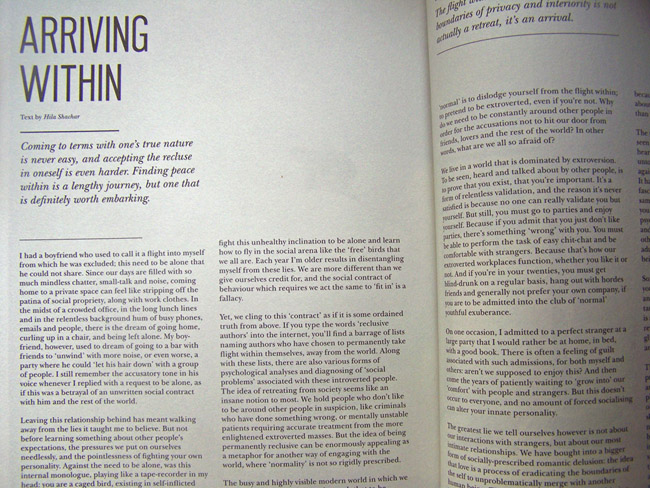 My article in Underscore magazine, issue 4