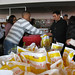 Food distribution at Far Rockaway