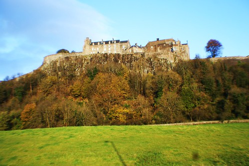 Stirling Castle atop Volcanic plug