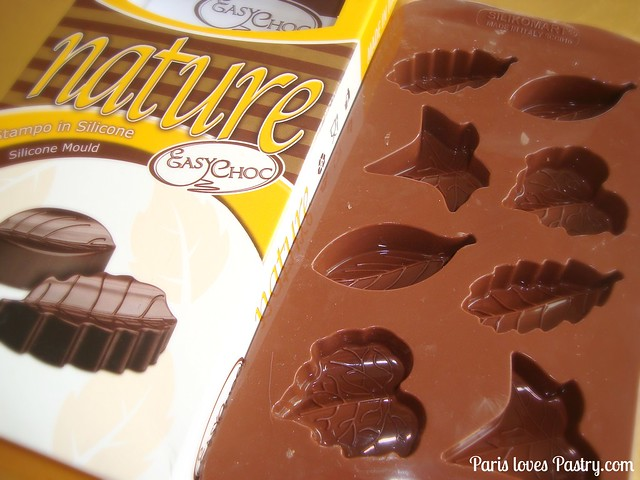 Silikomart的巧克力模