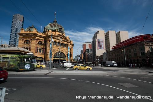 Flinders Street Station - Melbourne, Australia, 2014