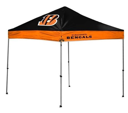 Cincinnati Bengals TailGate Canopy/Tent  sc 1 st  Tailgatorz & Cincinnati Bengals Tailgate Canopy/Tent Easy Up Shelter Design for ...