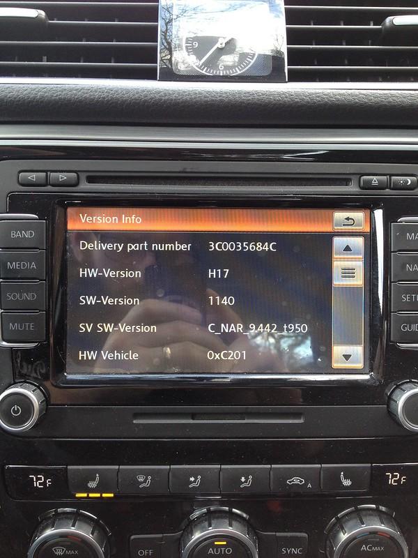 VWVortex com - RNS-510 Firmware Update Issue