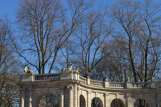 Volkspark Friedrichshain Berlin_Fairy Tale Fountain Maerchenbrunnen archways animals and trees