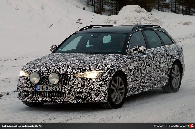 Audi A6 Avant/Allroad test