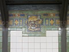 NYC Subway Art: Ceramic Tiles, murals, sculptures, etc.
