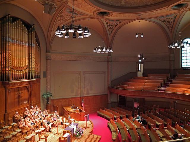First Baptist Church, Portland Oregon.  April 6 2014.