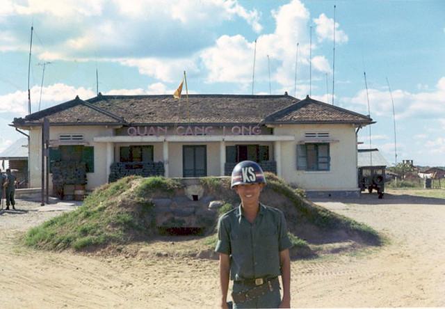 Cang Long District Headquarters, Vinh Binh Province, Dec. 1970