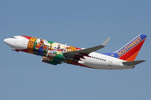 N945WN Southwest 737-7H4 leaving...